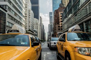 New York City taxi cabs