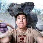 Selfie on Safari