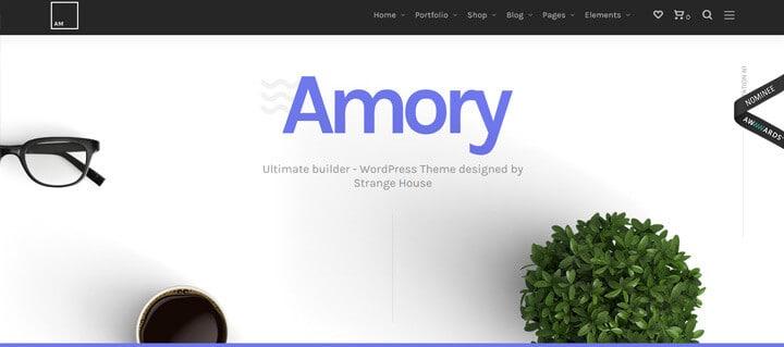 Amory Responsive Multipurpose WordPress Theme