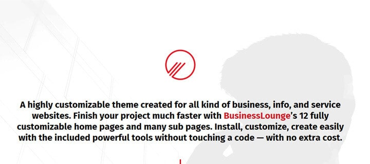Business Lounge Multi-Purpose Business & Consulting Theme