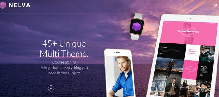 Nelva - Marketing & Startup Theme