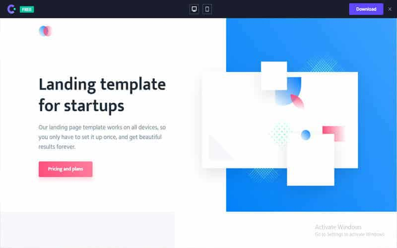 Agnes website for free templates