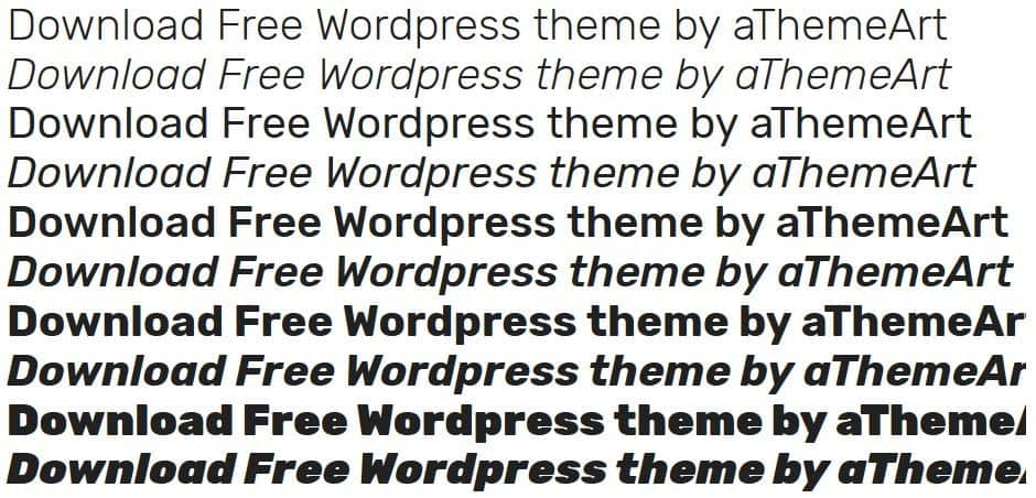 wordpress google webfont