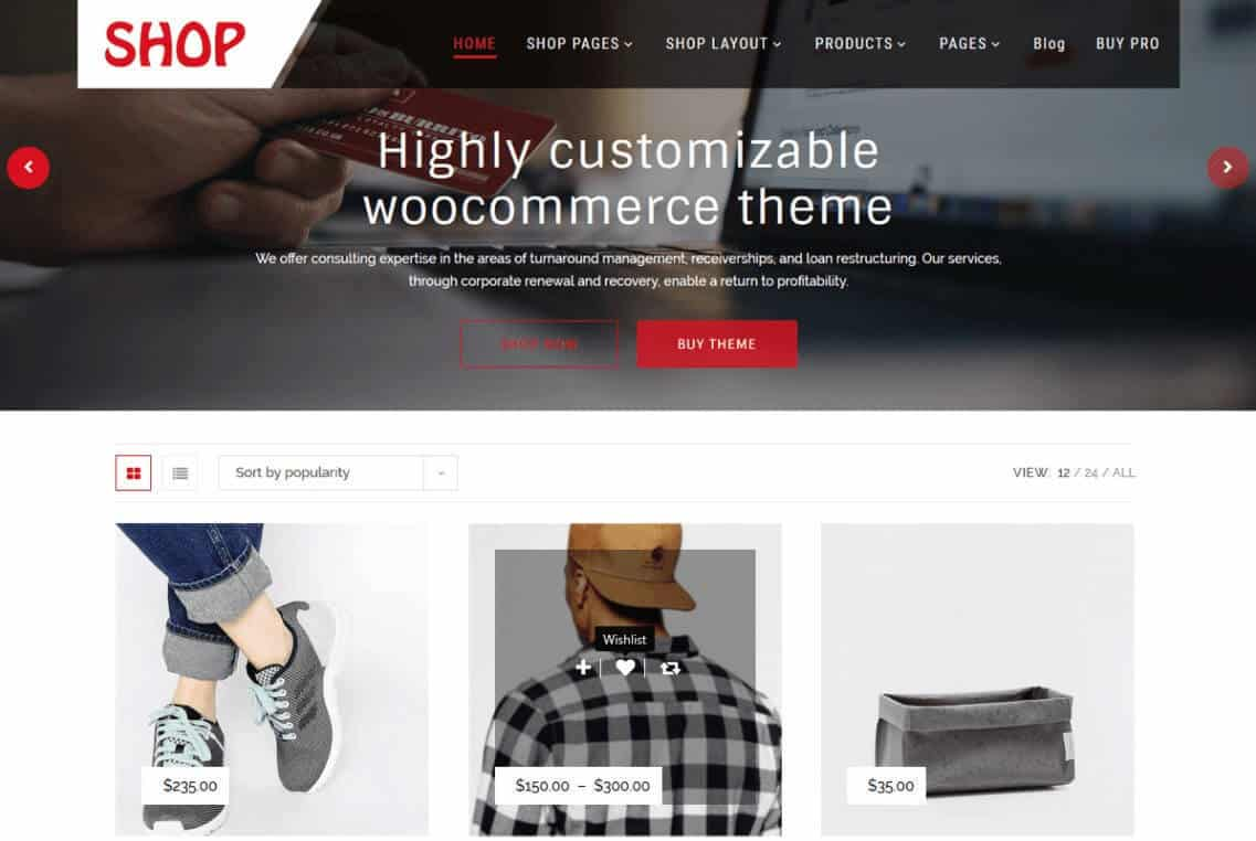 Multipurpose wordpress child theme