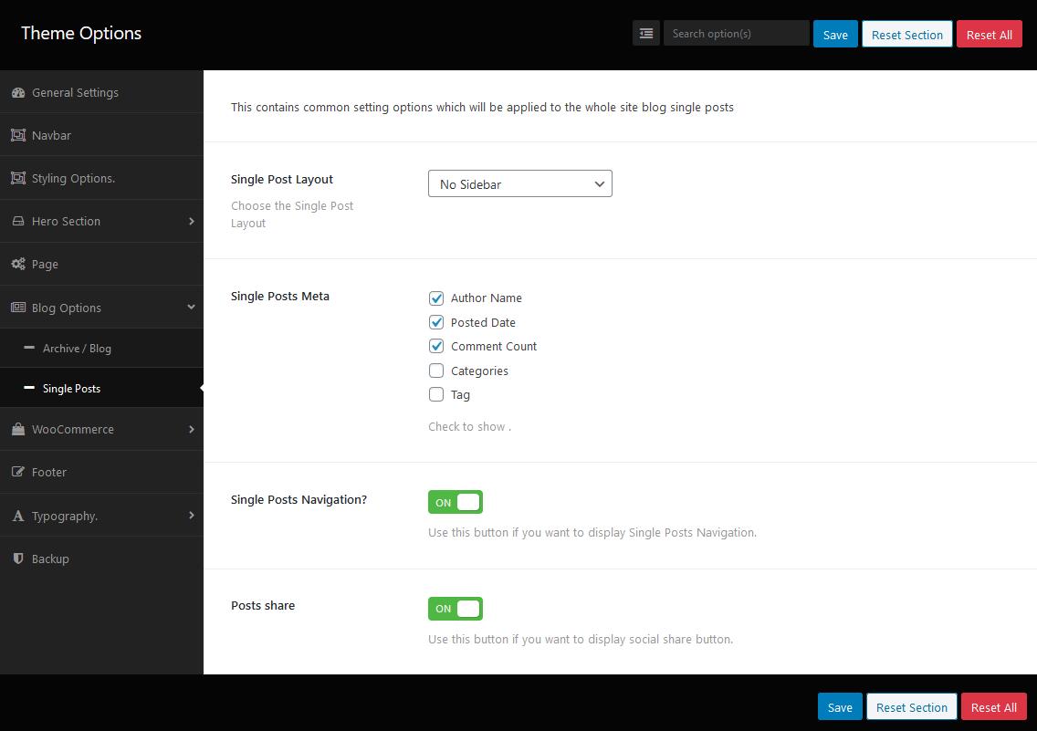 Customize Single Post