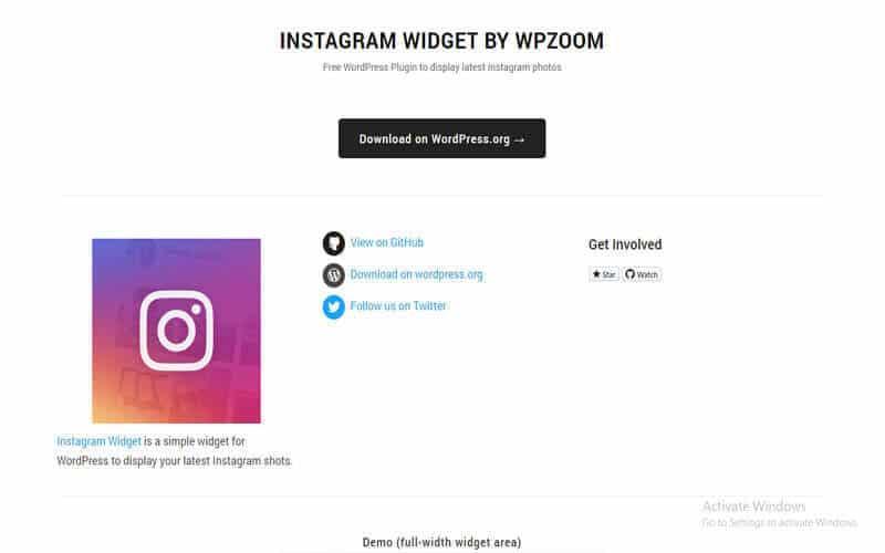WPZOOM Social Feed