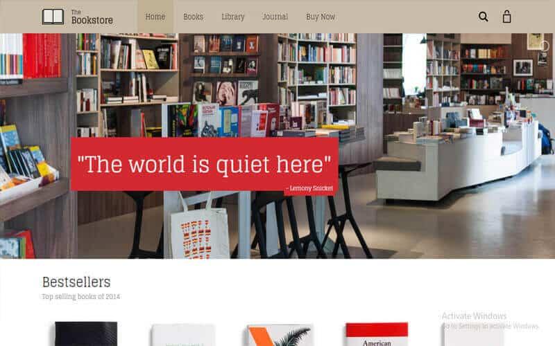 Preview screenshots of Aurum - Minimalist Shopping Theme