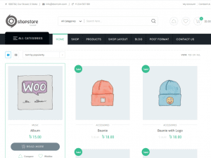 shopstore – free ecommerce theme for wordpress