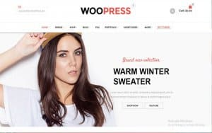 WordPress eCommerce Theme Using Bootstrap