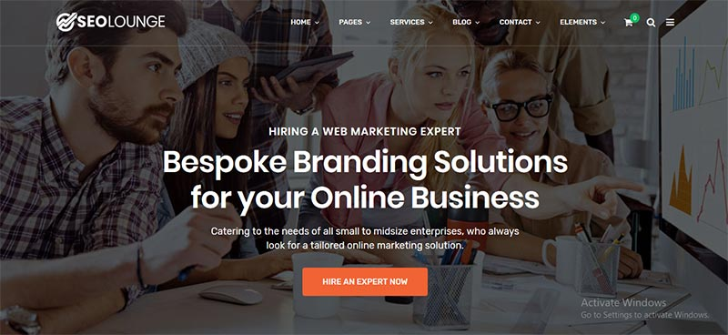 Digital Marketing Theme
