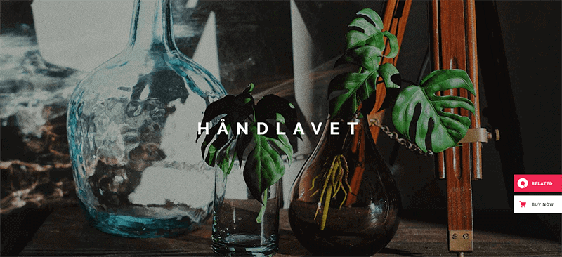 Preview screenshots of Håndlavet - Art and Home Decor Shop