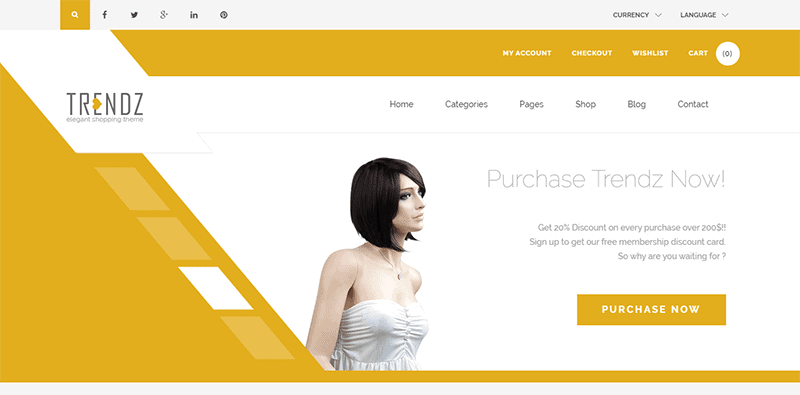 Preview screenshots of Trendz - WooCommerce Shopping WordPress Theme