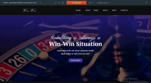 WordPress Casino theme to Earn Money by Online Casino Affiliate Website