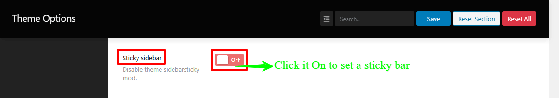 Shoper Pro theme's topbar information