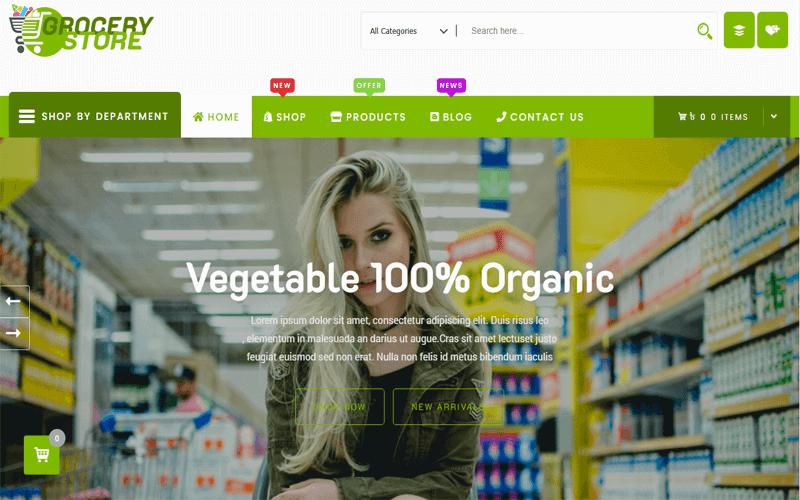 Grocery-Store WordPress WooCommerce Theme