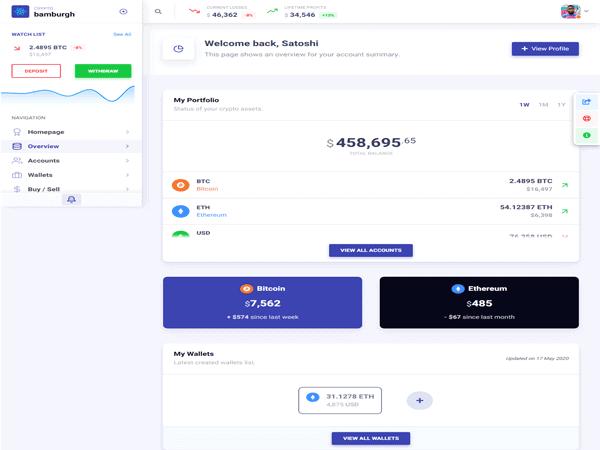 Bamburgh - React Bootstrap Admin Dashboard and UI Kit Template