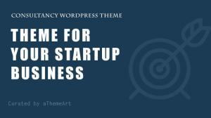 20 + Consultancy WordPress Theme for your startup business