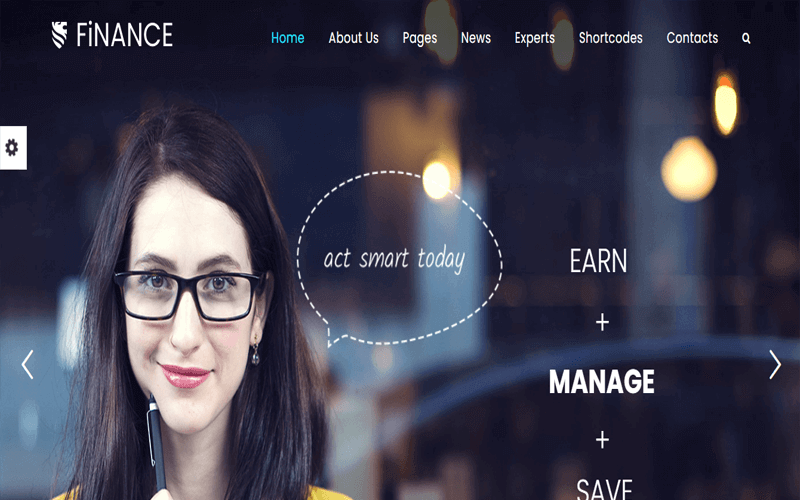 Image of Consulting WordPress Theme Finance Consultant