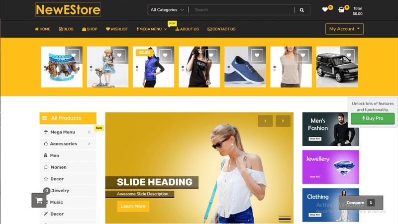 NewShop eCommerce