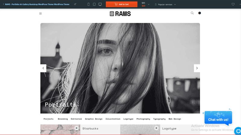 RAMS WP theme builder