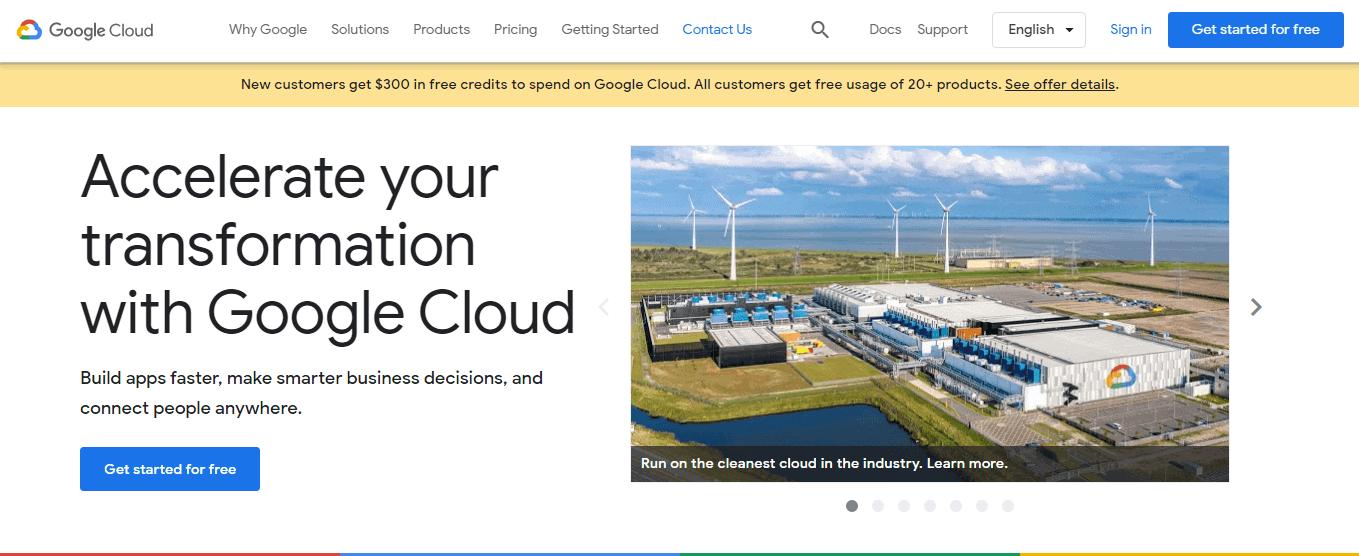 Google Cloud Hosting Provider