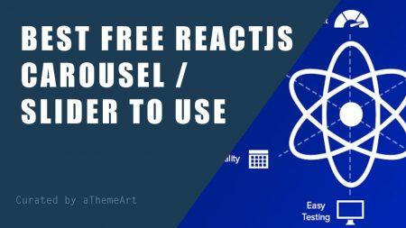free react js carousel