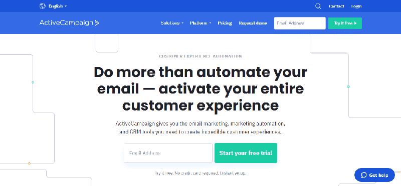 ActiveCampaign mailchimp alternatives free