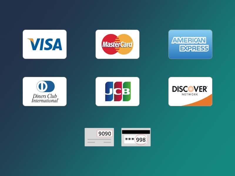 Credit Card Icons Freebie