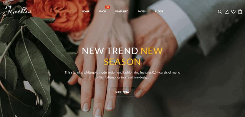 Jewellia - Responsive premium themes