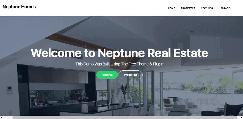 Property theme wordpress free