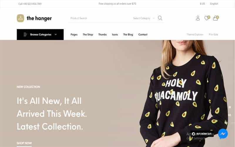 WordPress eCommerce Theme for WooCommerce