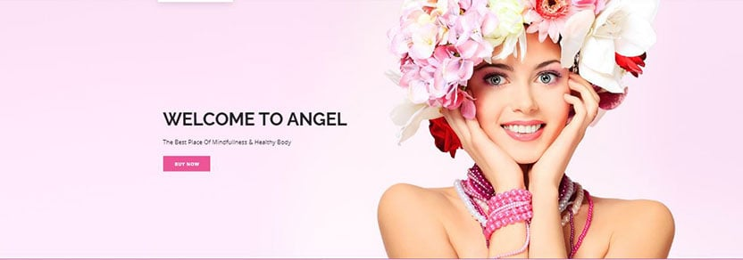 angel wordpress theme for cosmetic store