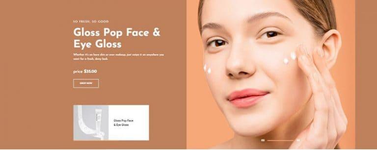 10 Beautiful WordPress Cosmetics Theme for Beauty Product Store
