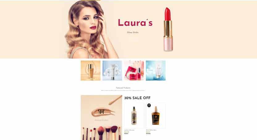 cosmeli wordpress cosmetics theme