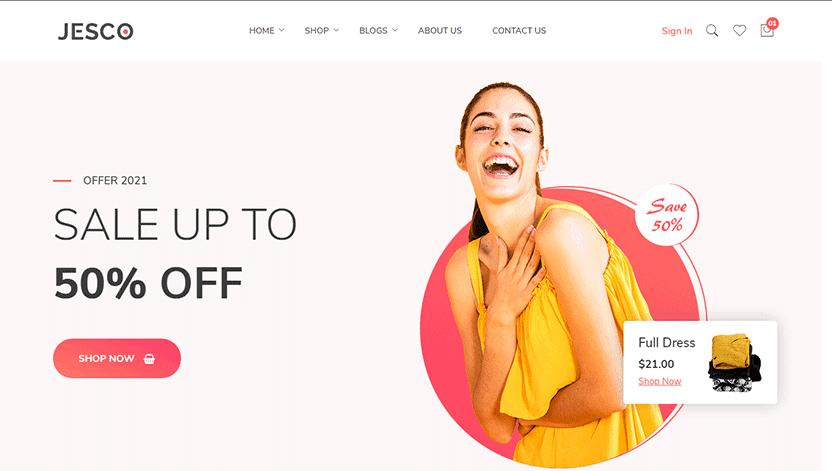 Jesco - bootstrap eCommerce