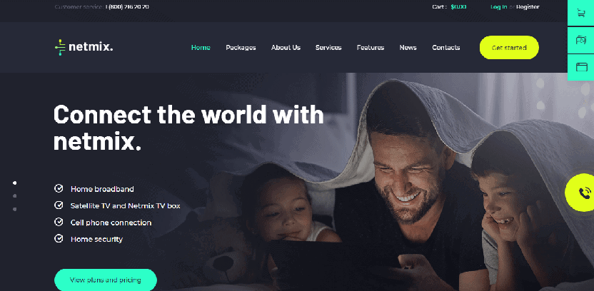 Netmix tv wordpress theme