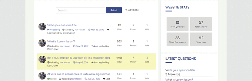 best amongst WordPress question and answer plugins