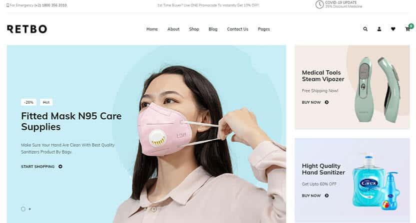 minimalist eCommerce theme