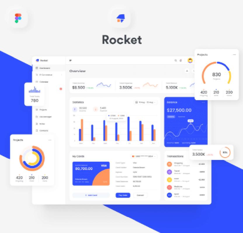 Rocketboard Admin Dashboard