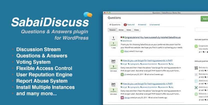 Sabai Discuss - Discussion Forum