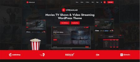 video streaming wordpress theme
