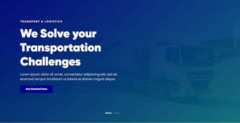 Shipping WordPress Theme