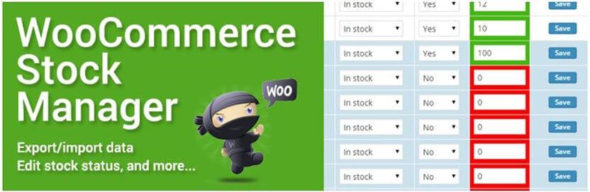 WooCommerce Stock Manager