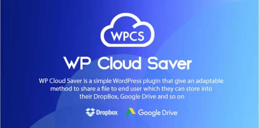 WP Cloud Saver