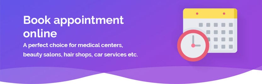 Book an appointment online