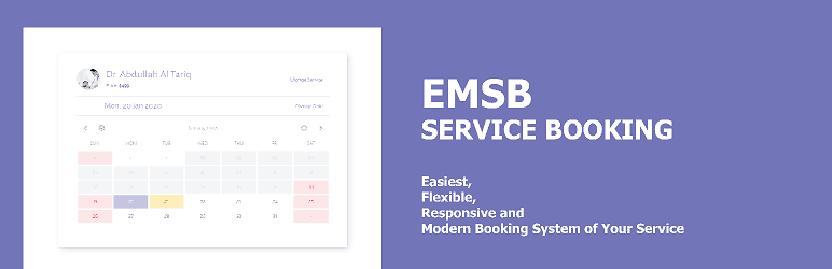 ESMB service booking
