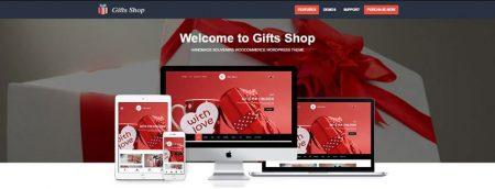 WordPress gift shop themes