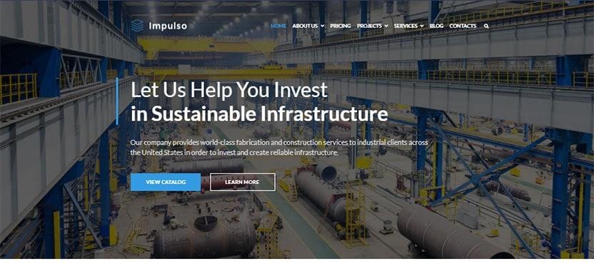 impulso-industrial-company-elementor