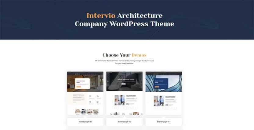 The 15 Best Architecture WordPress Theme for Interior, Architecture or Construction Portfolios