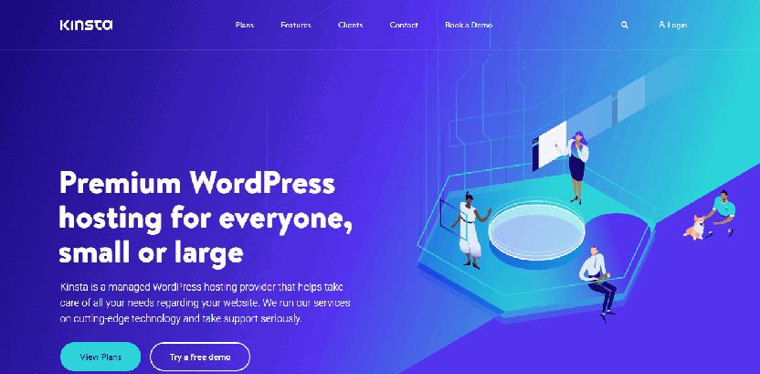 Kinsta - WooCommerce hosting